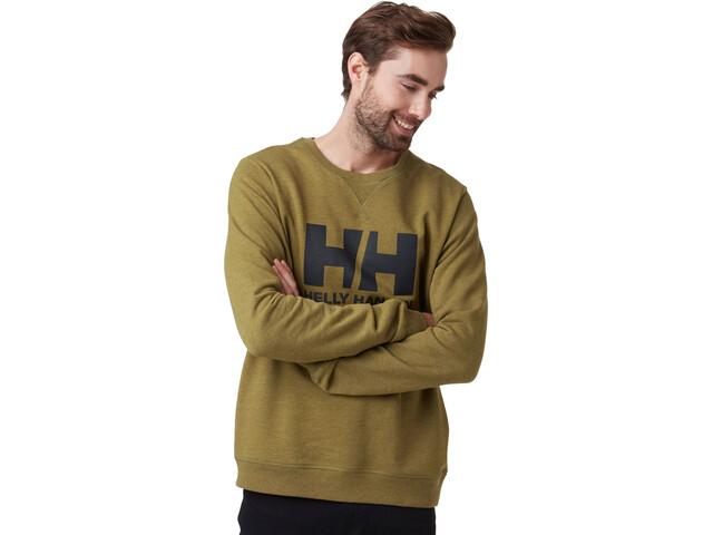 Helly Hansen HH Logo Suéter de cuello redondo Hombre, Oliva